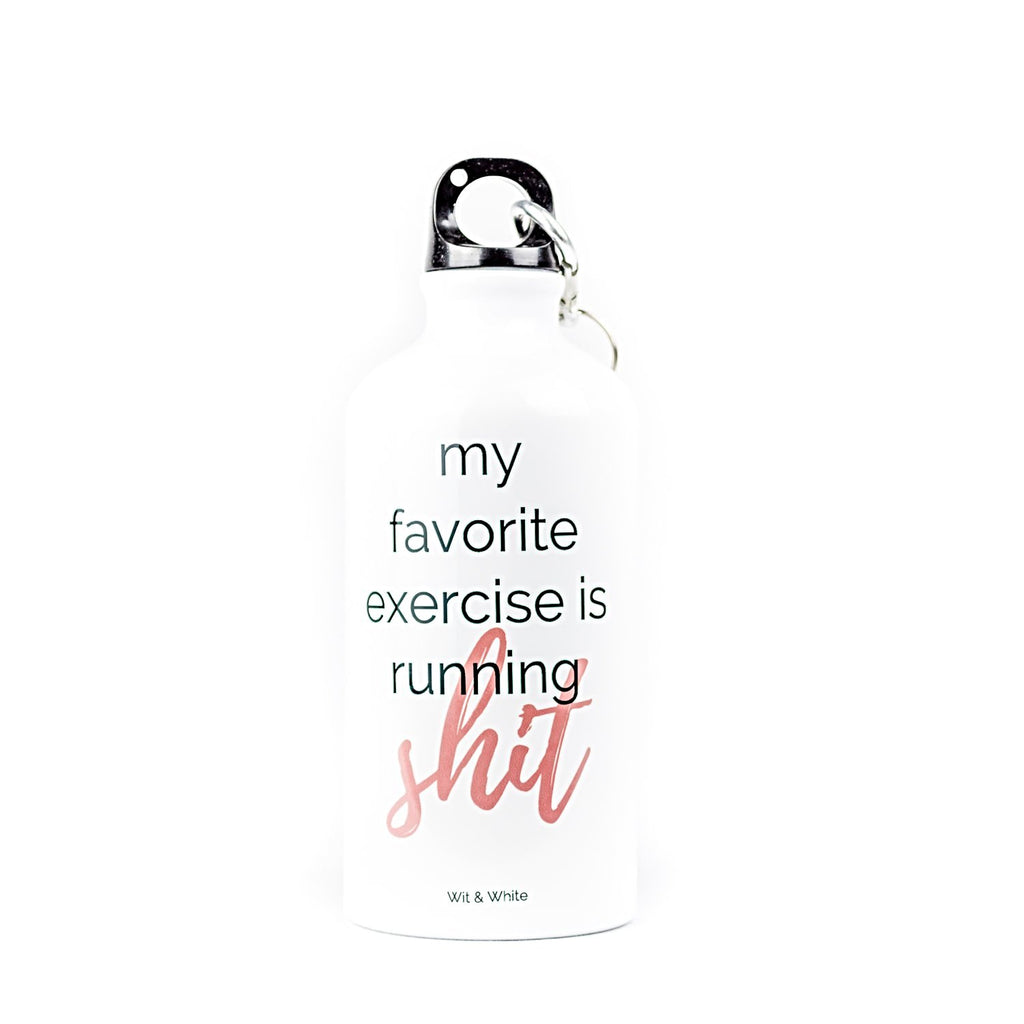 My Favorite Exercise Water Bottle