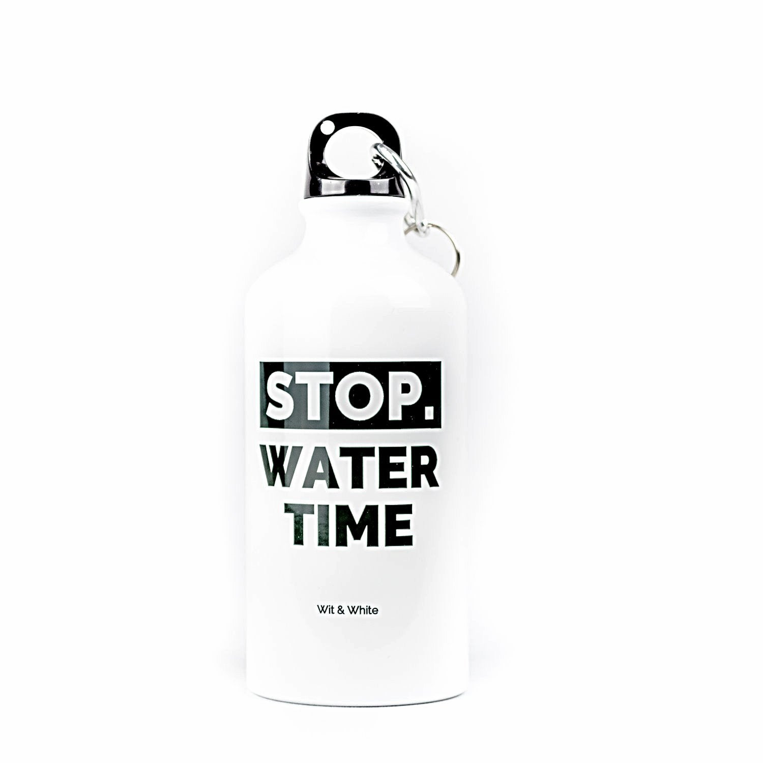 Stop. Water Time Water Bottle