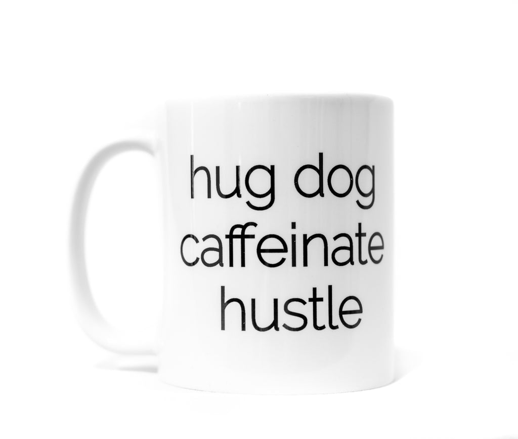 Hug Dog Coffee Mug