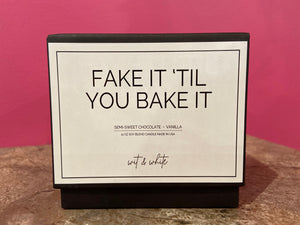 Fake It 'Til You Bake It Candle