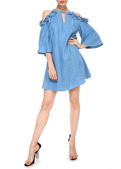denim delight dress