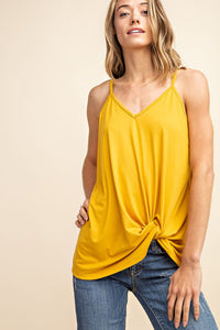 Totally Twisted Tank Top (+ colors)