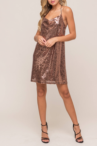 Champagne Toast Dress