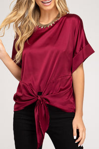 Simply Satin Top