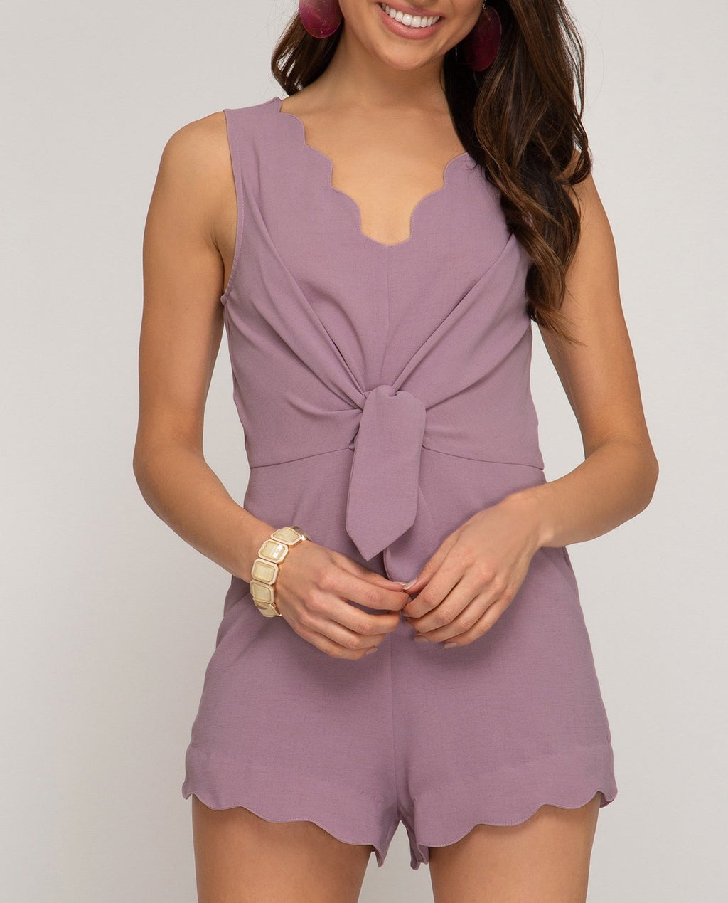 Spring Scallops Romper (+colors)