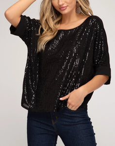 Sequin Style Top