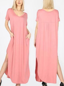 Beautiful And Basic Maxi Dress