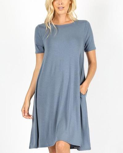 Basic Shift Dress (+ colors)