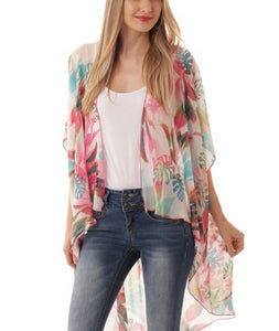 Tropical Feelings kimono (+ colors)