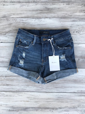KanCan Cuffed Shorts