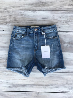 KanCan Frayed Shorts