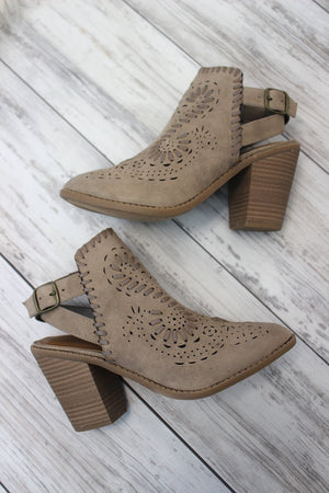 Realness Bootie - Taupe
