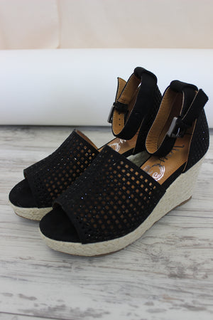 Warrior Platform Wedge - Black