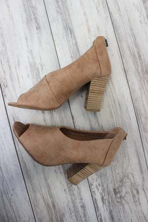 Swoop Heel - Blush
