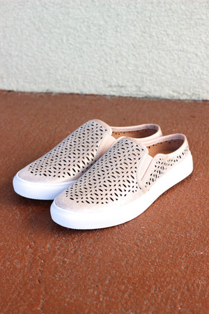 Lazercut Slip-On Sneaker (+colors)