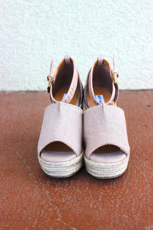 Leif Wedge - Rose Gold