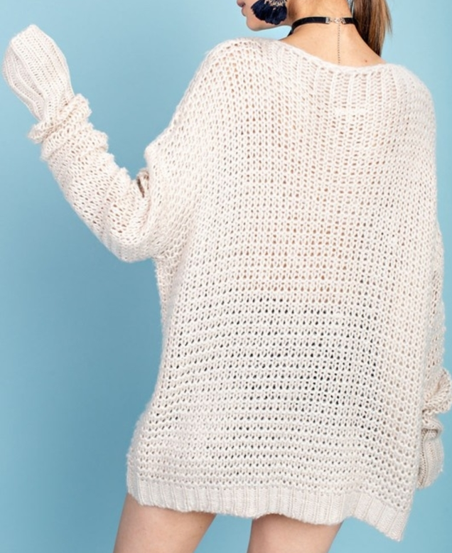 Oversized Obsession Sweater