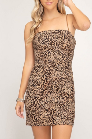 Love Me Leopard Dress
