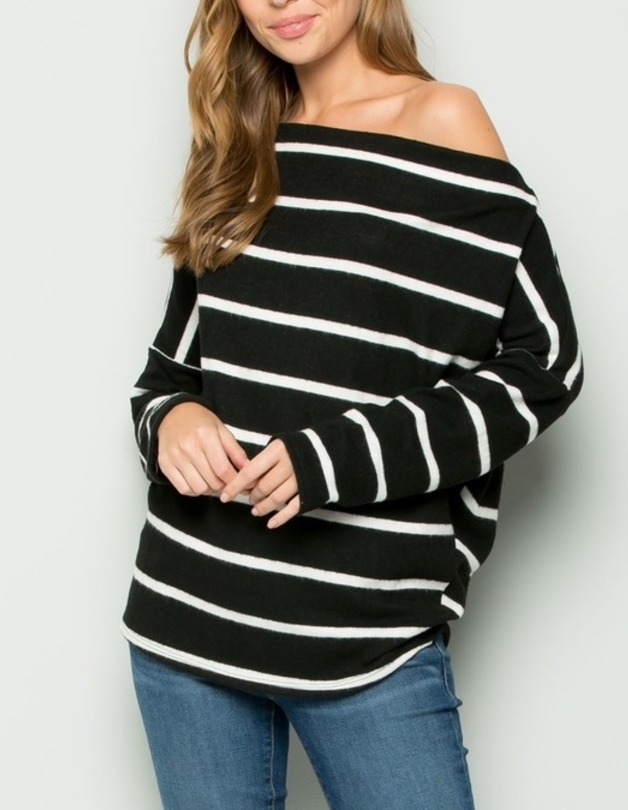 Stripes & Sass Top