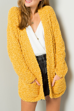 Go For Gold Cardigan