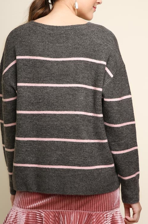 Styling In Stripes Sweater