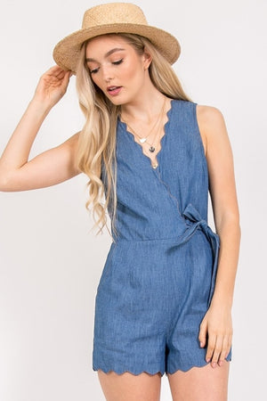 Denim Delight Romper