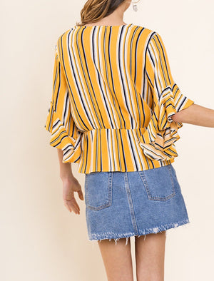 Sassy in Stripes Top