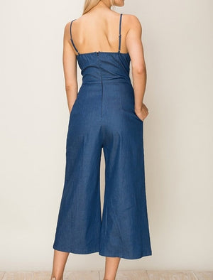 Darling In Denim Jumpsuit