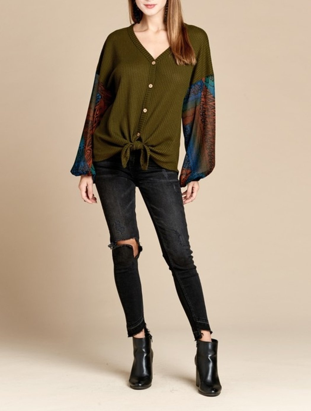 Falling For Style Top (+colors)