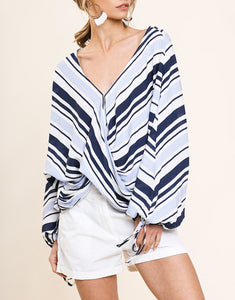 Stylish Summer Stripes Top