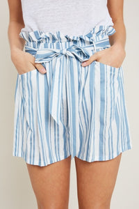 Springtime Stripes Shorts