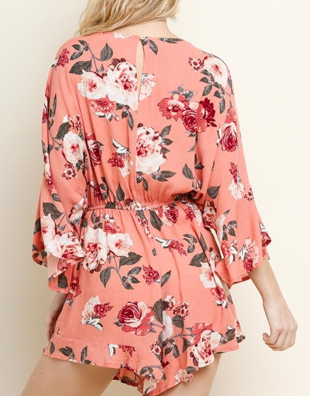 Floral Beauty Romper