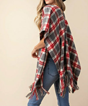 Fierce In Flannel Cardigan