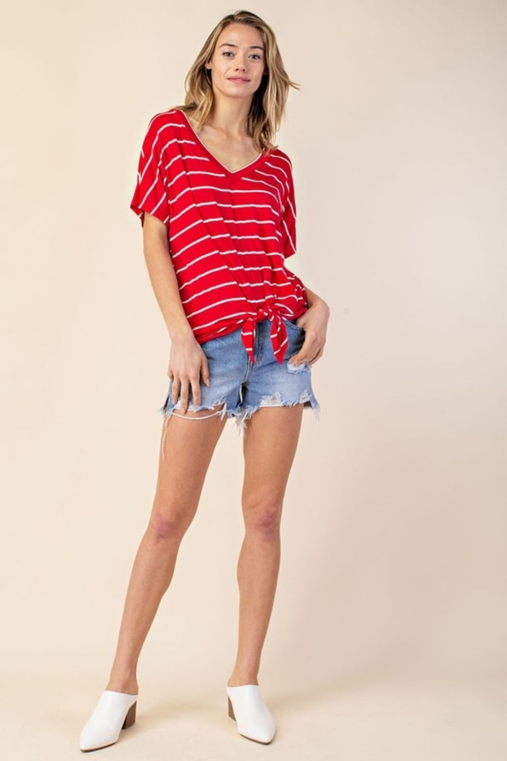 Summertime Stripes Top