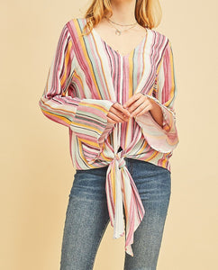Colorful & Casual Top
