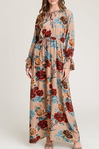Fall Floral Maxi (+colors)