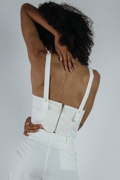 Cassie Top in White