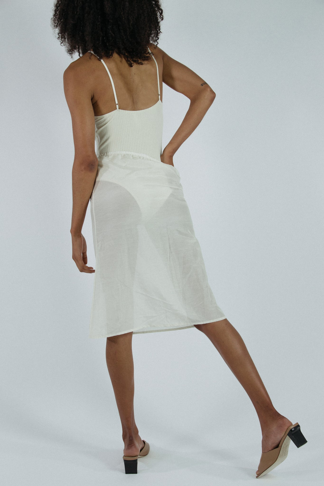 Carly Skirt in Ivory - Presale