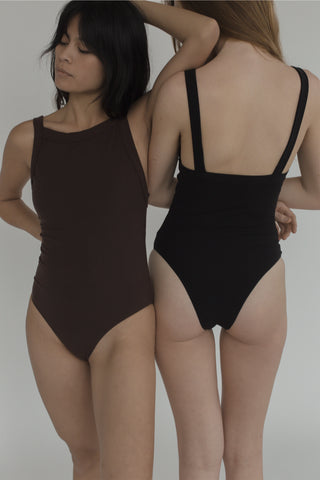 Holland Bodysuit in Brown