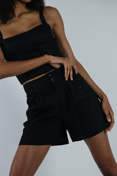 Jewel Shorts in Black