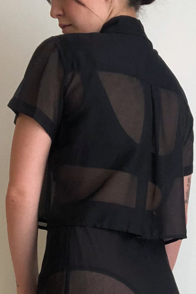 Neada Top in Black