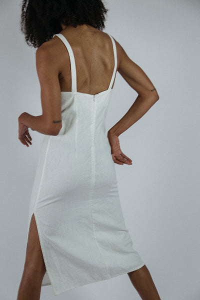 Olivia Dress in White