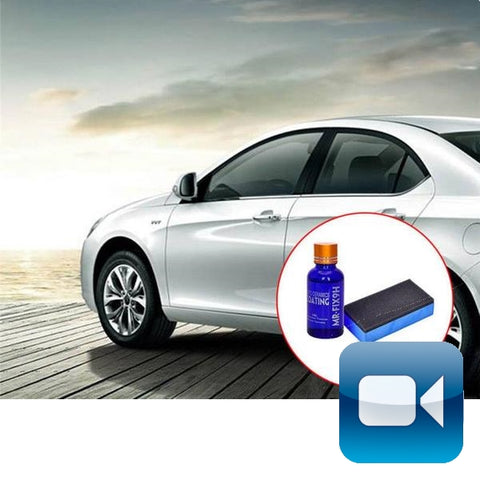Car Polish Ceramic Glass Coating - See Video!