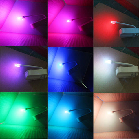 8 Color Changing LED Toilet Nightlight - Body Motion Activated - 50% Off