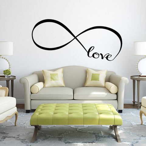 Infinity Love Wall Art Sticker
