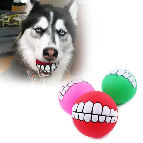 Funny Dog Teeth Ball