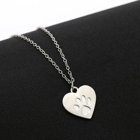 Paw On My Heart Necklace
