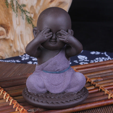 Buddhist Monk Figurines