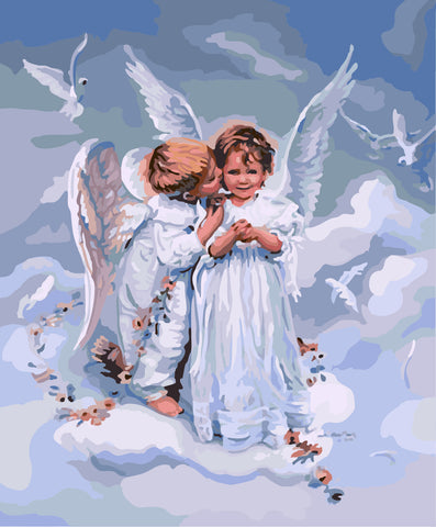 Angel Oil Painting By Numbers