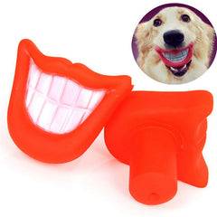 Funny Mouth Dog Chew Toy